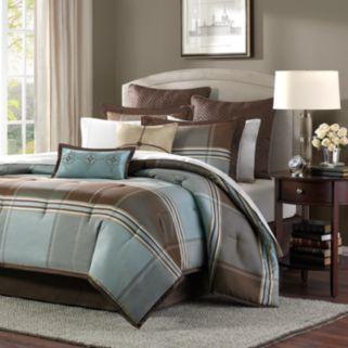 Madison Park Davenport 8-pc. Plaid Comforter Set