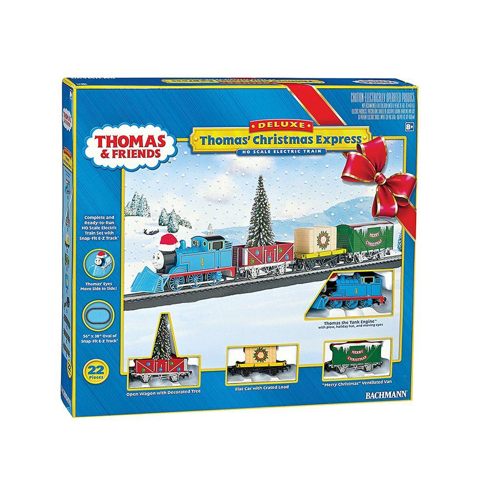 Thomas & Friends HO Scale Christmas Express Electric Train Set by Bachmann