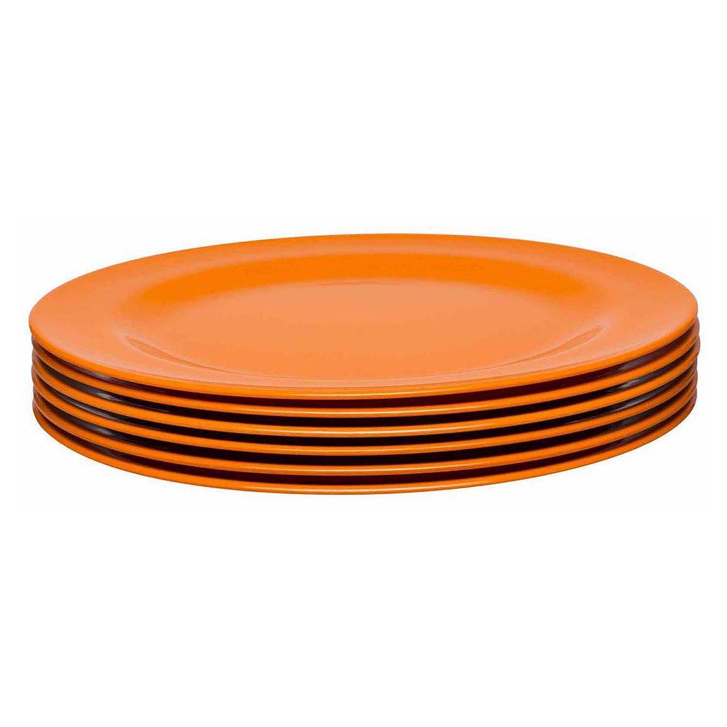 Zak Designs 6-pc. Melamine Salad Plate Set