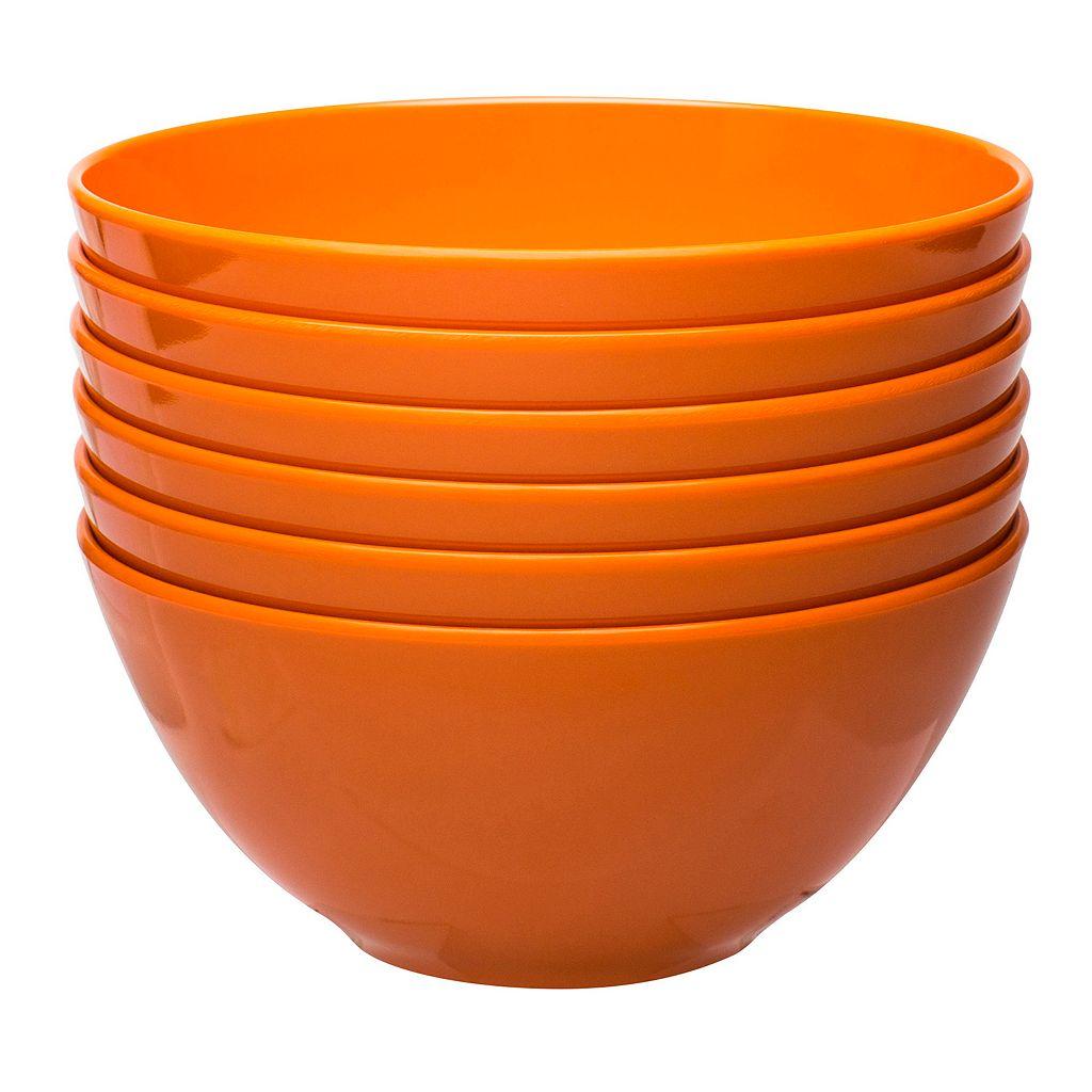 Zak Designs 6-pc. Individual Melamine Bowl Set