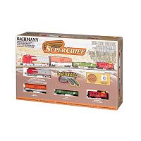 Bachmann Super Chief N Scale Electric Train Set