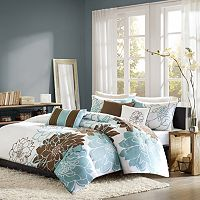 Madison Park Farrah 6 pc Duvet Cover Set