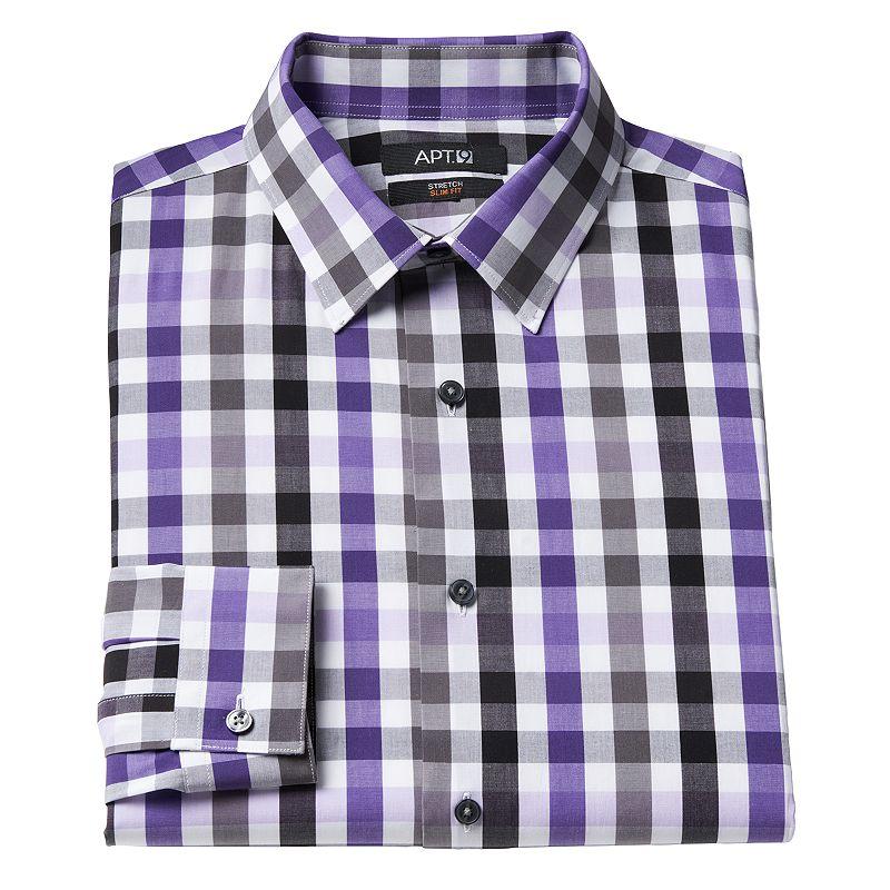 Slim fit shirt kohl 39 s for Apartment 9 dress shirts