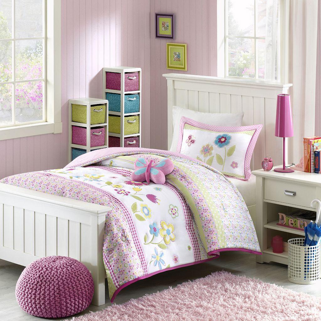 Mi Zone Kids Flower Power Comforter Set