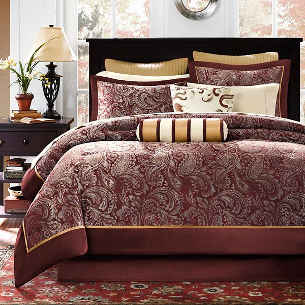 Madison Park Churchill 12 Pc Bed Set, Kohls Queen Bedding Set