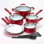 Guy Fieri 12-pc. Nonstick Cookware Set