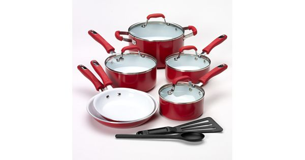 Guy Fieri 12 Pc Nonstick Cookware Set