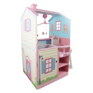 Olivia's Little World Pink Baby Nursery Dollhouse