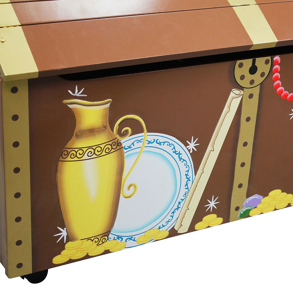 Fantasy Fields Pirates Island Toy Chest by Teamson Kids