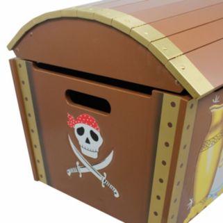 Fantasy Fields Pirates Island Toy Chest by Teamson Kids