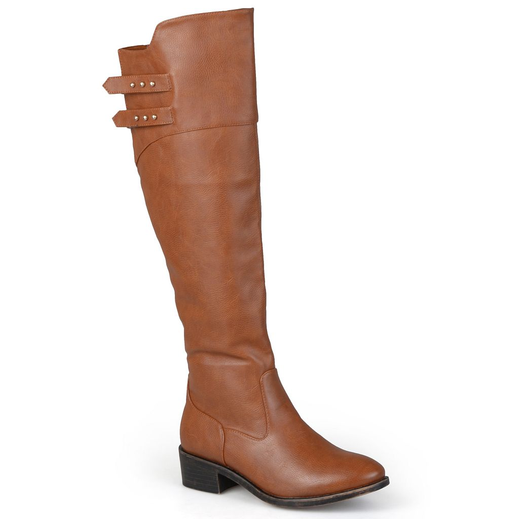 Journee Collection Chloe Women's Knee-High Riding Boots