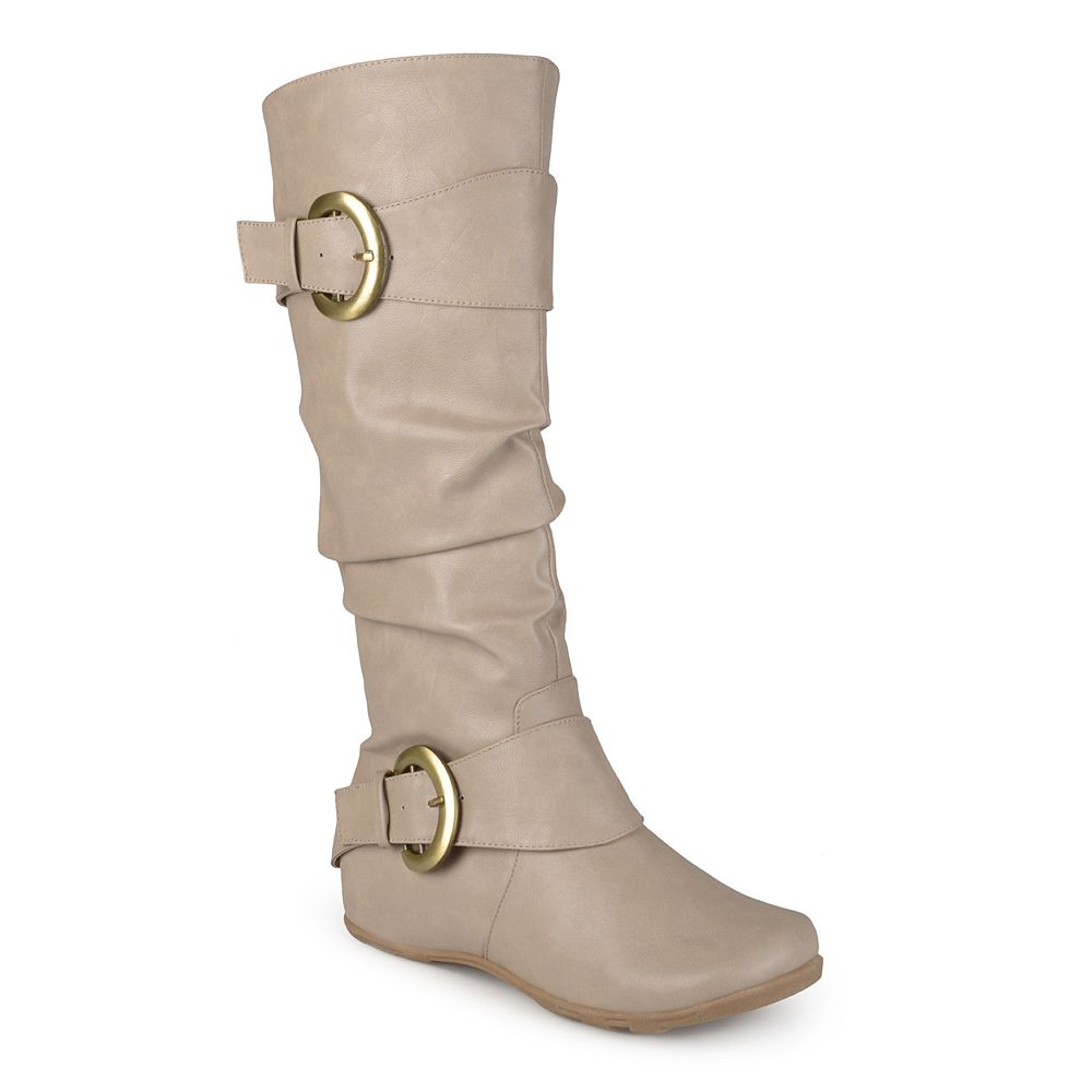 Bathroom scales boots - Journee Collection Paris Women S Slouch Boots