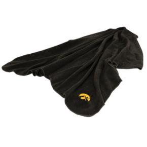 Logo Brand Iowa Hawkeyes Fleece Throw Blanket