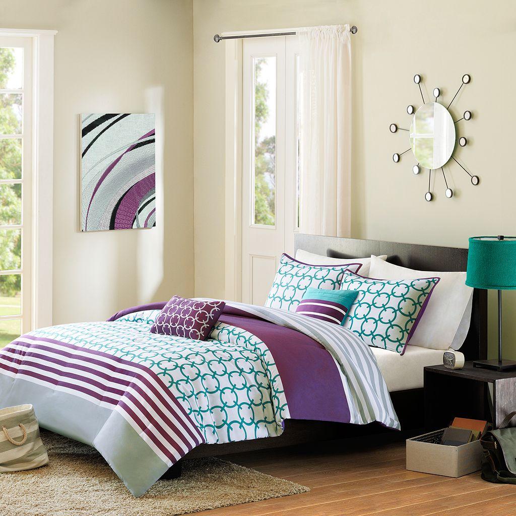Intelligent Design Lacey Comforter Set