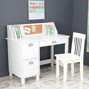 Pleasing Kidkraft Avalon Desk Chair Set Ncnpc Chair Design For Home Ncnpcorg