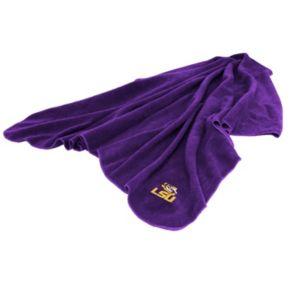 Logo Brand LSU Tigers Fleece Throw Blanket
