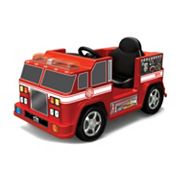 National Products 6V Ride-On Fire Engine