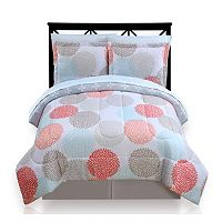 The Big One® Dahlia Dot Reversible Bed In A Bag Set