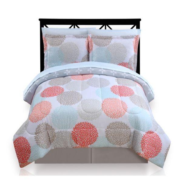 The Big e Dahlia Dot Reversible Bed In A Bag Set