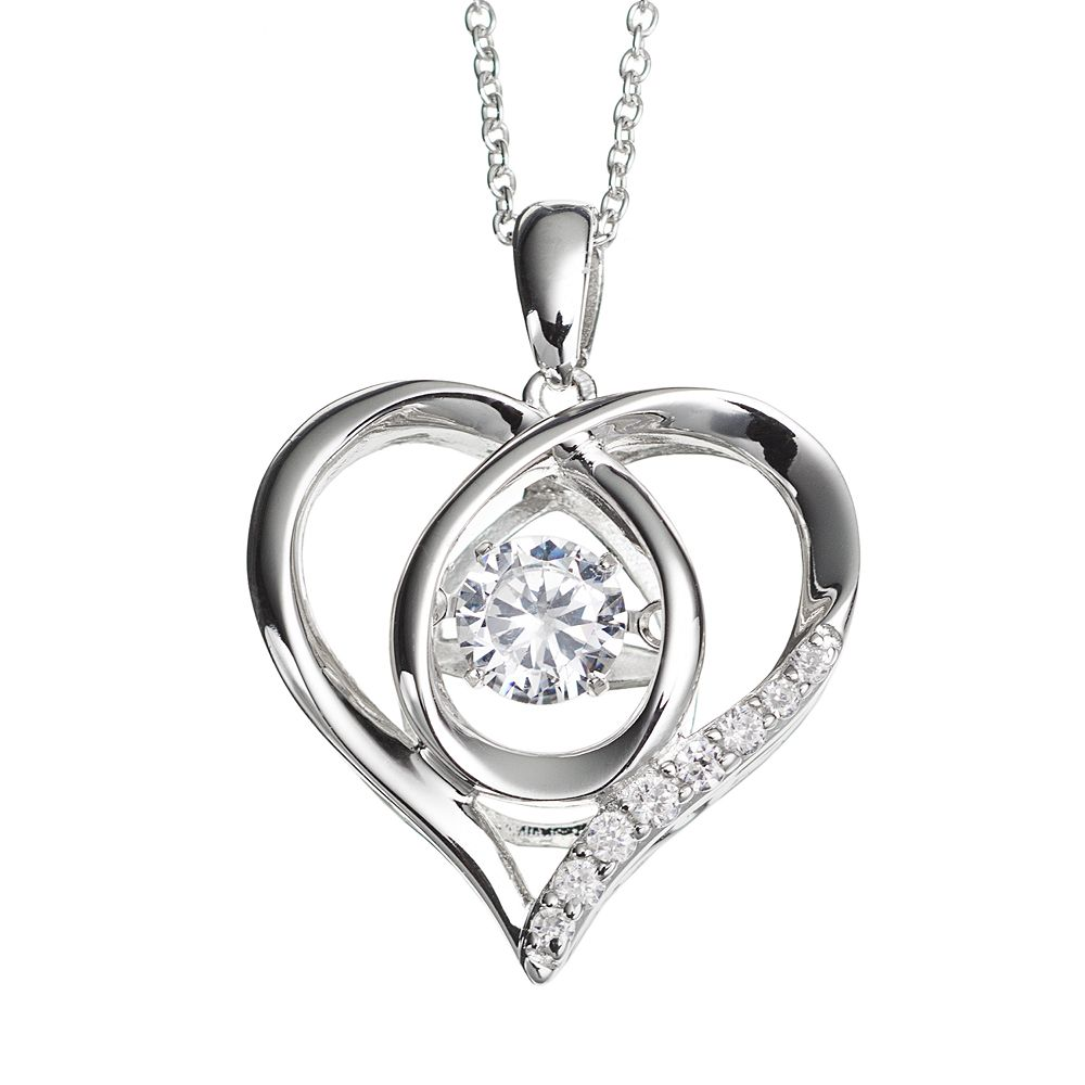 women a pendants necklaces pendent round for product simulated jewelry lot silver wholesale sterling gold flower cubic diamond zirconia necklace chain