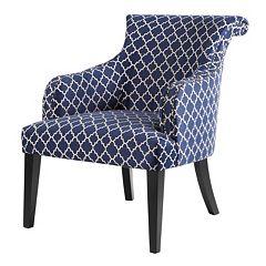 Madison Park Alexis Trellis Accent Chair