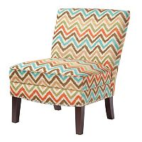 Madison Park Hayden Chevron Accent Chair