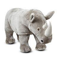 Melissa & Doug Rhinoceros Plush Toy