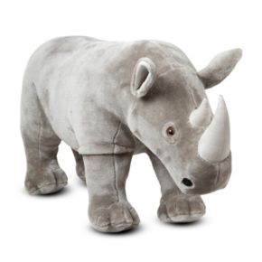 Melissa and Doug Rhinoceros Plush Toy