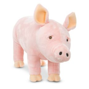 Melissa and Doug Pig Plush Toy