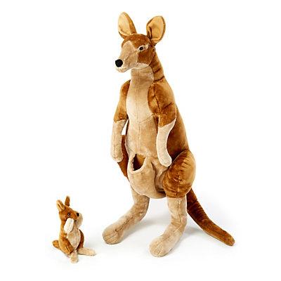 Melissa and Doug Kangaroo and Joey Plush Toy