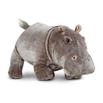 Melissa & Doug Hippopotamus Plush Toy