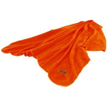 Logo Brand Oklahoma State Cowboys Fleece Throw Blanket