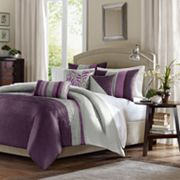 Madison Park Mendocino 6 pc Pintuck Duvet Cover Set