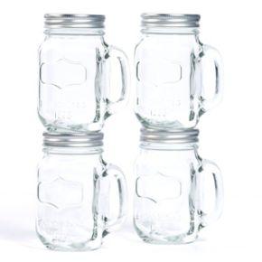 Tabletops Gallery 4-pc. Mason Jar Mug Set