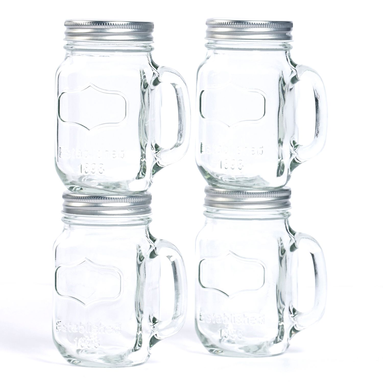 mason jar mug set - Mason Jar Glasses