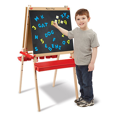 Melissa and Doug Deluxe Magnetic Standing Art Easel