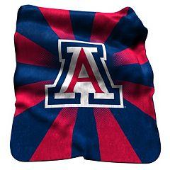 Logo Brand Arizona Wildcats Raschel Throw Blanket