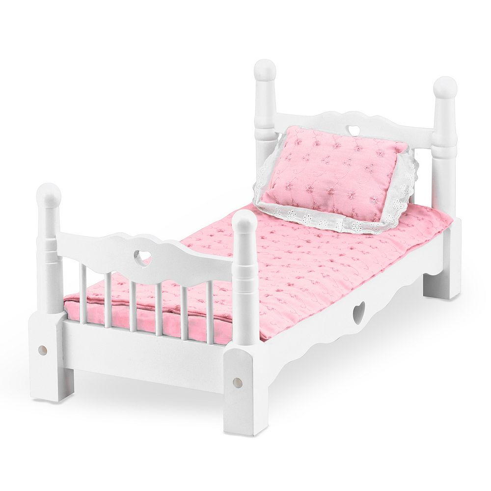 Melissa & Doug Wooden Doll Bed