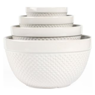 Tabletops Gallery Hobnail 4-pc. Mixing Bowl Set