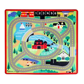 Melissa and Doug Round the Town Road Rug