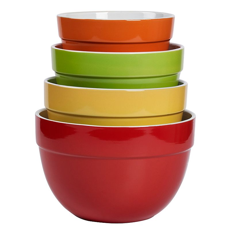 Tabletops Gallery Classic 4-pc. Mixing Bowl Set