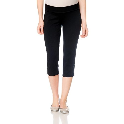 79f60fac0 Maternity Oh Baby by Motherhood™ Underbelly Crop Yoga Pants