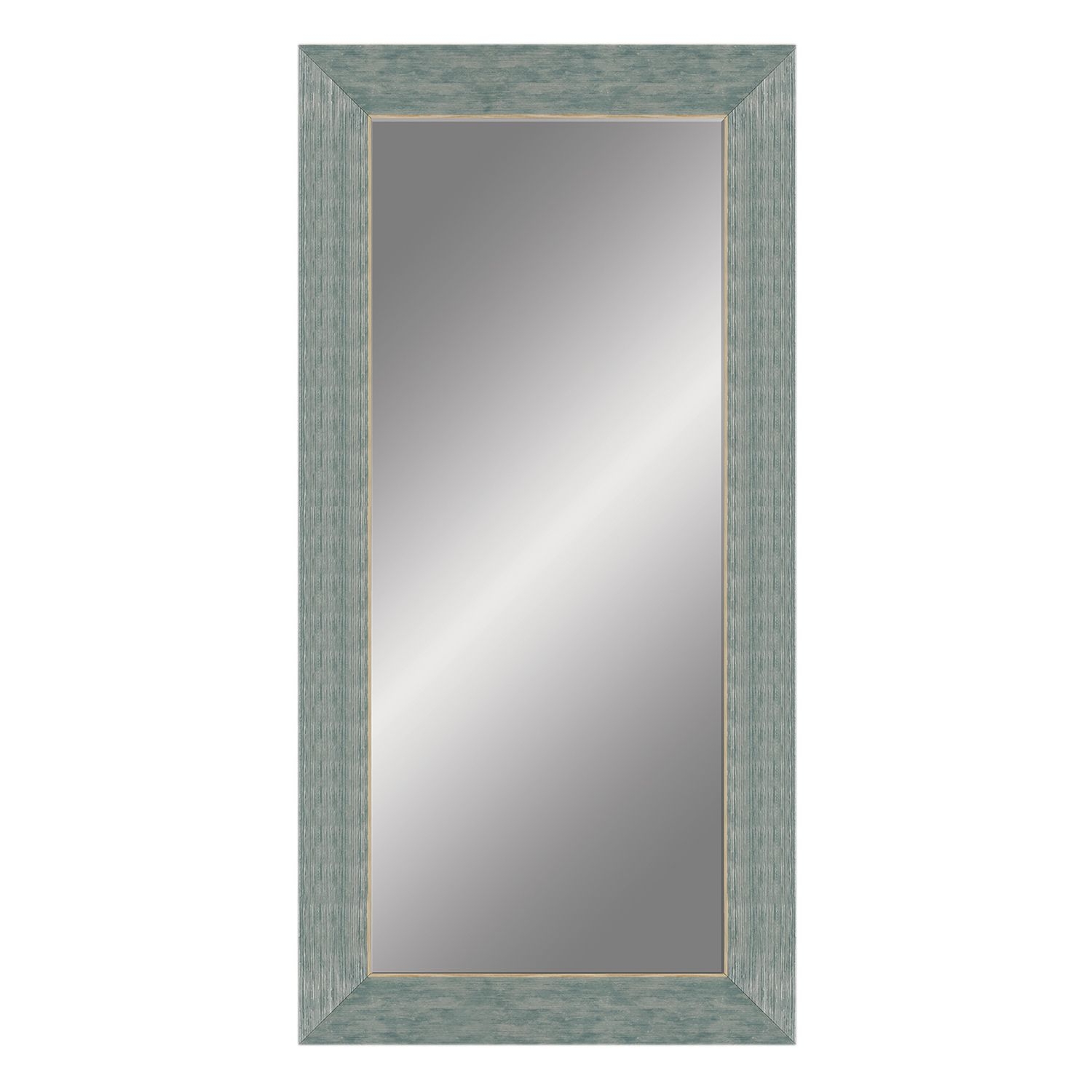 shoreline windowpane wall mirror