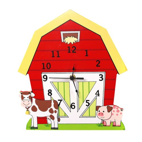 Fantasy Fields Happy Farm Wall Clock by Teamson Kids