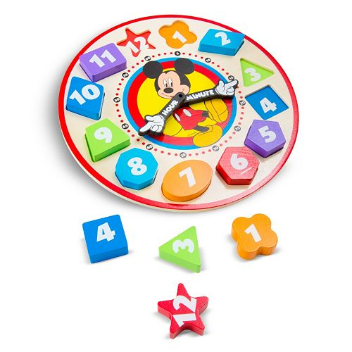 Disney Mickey Mouse Sorting Clock by Melissa & Doug