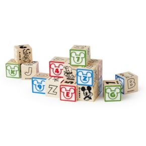 Disney Classics ABC's and 123's My First Wooden Block Set by Melissa and Doug