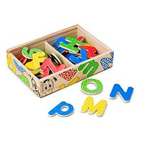 Disney Mickey Mouse & Friends Wooden Alphabet Magnets by Melissa & Doug