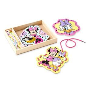Disney Mickey Mouse and Friends Minnie Mouse Lacing Cards by Melissa and Doug
