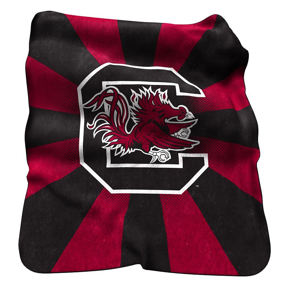 Logo Brand South Carolina Gamecocks Raschel Throw Blanket