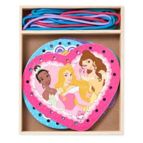 Disney Princess Wooden Lacing Cards by Melissa and Doug